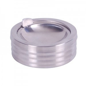 S/STEEL ASHTRAY ROUND - SMALL SAS1001 | S/STEEL ASHTRAY | wedoall.co.za