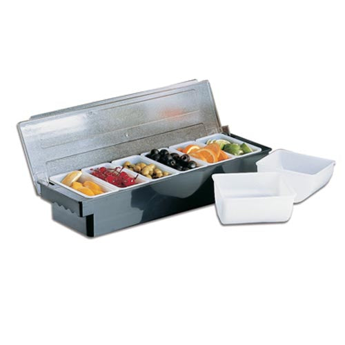 BAR CADDY DELUXE - 6 DIVISION (BLACK) BCD0006
