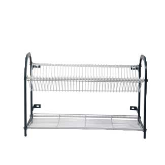 800 WALL MOUNT CROCKERY RACKuffa0 3 TIER 76 PLATES + CUP RACK XY-4062 | wedoall-co-za.myshopify.com