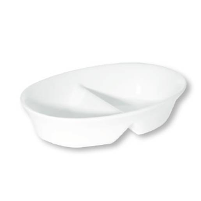 Divided Bowl 20CM (6) DA-1085 | oval divided bowl | wedoall.co.za