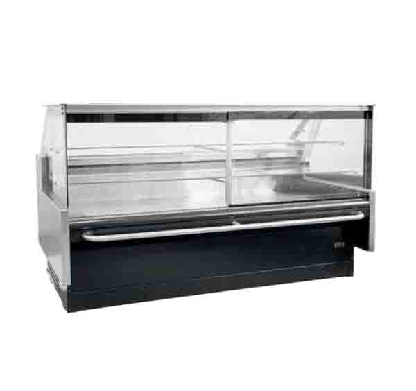 Square Glass 2.4m Meat Chiller SGM2440SC
