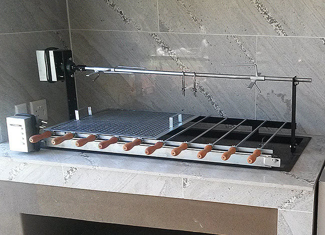 Built-in Spit and Skewer Combination Braai BSSCB5 | wedoall-co-za.myshopify.com