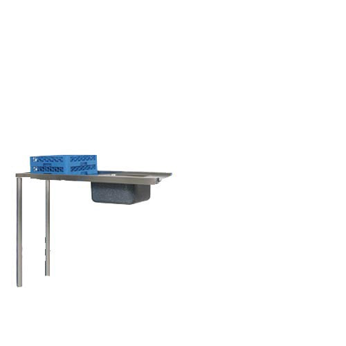 INLET TABLE + SINK 1150mm BOXED EDGE INCL SPLASHBACK  ITS1150 | inlet table | wedoall.co.za