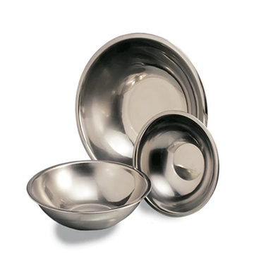 Mixing Bowl S/Steel Round 240mm MBS0240 | Mixing Bowl S/Steel Round 3lt | wedoall.co.za