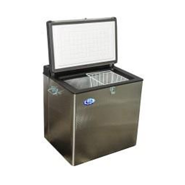 95L Gas Chest Freezer S/S CF100GES | 95L Chest Freezer Stainless Steel | wedoall.co.za