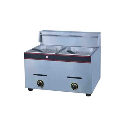 6lt Double Pan Gas Fryer FDG2X6 | 6lt Double Pan Gas Fryer | wedoall.co.za