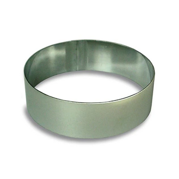 Cake Ring Round 200 X 58 MM  CRR0200 | Cake Ring Round Stainless Steel | wedoall.co.za