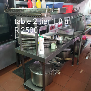 Table 2 tier 1.8m used | wedoall-co-za.myshopify.com