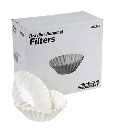 COFFEE MACHINE FILTERS - BRAVILOR (BOX OF 1000)