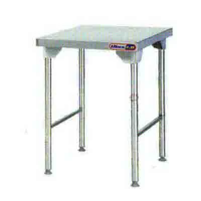 Plain Top Table 650mm 1.0 mm 430 S/S Titan 1.0mm Stainless Steel Legs  SDTA2006O7 | Plain Top Table | wedoall.co.za