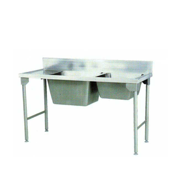 Combination Sink 1700mm S/Steel Legs Pkpcs1700ssl