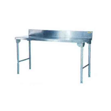Splash Back Table 1700mm 0.7 mm 430 S/S  With Mild Steel Legs Titan SDTA1004O7 | Splash Back Table | wedoall.co.za