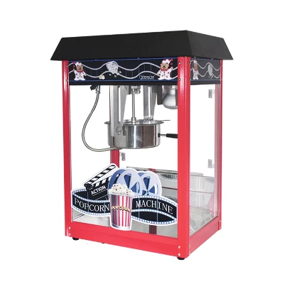 Popcorn Machine 8oz POP6A-B Red & Black | Popcorn Machine 8oz | wedoall.co.za