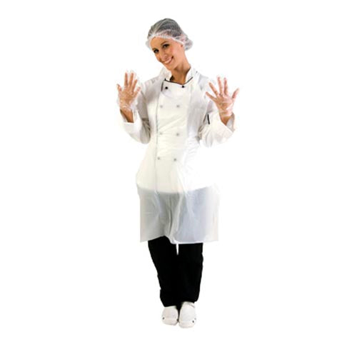 DISPOSABLE APRONS - PACK OF 100 UDA0001 | Chef Equip disposable equipment | wedoall.co.za