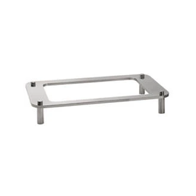 DOMINO DISH STAND GN1/1 RECTANGULAR S/STEEL 615 x 350 x 101mm DDS1010 | stand | wedoall.co.za