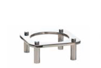 Catering Equipment Domino Dish Stand Round, 250 x 250 x 103mm Tiger DDS0250