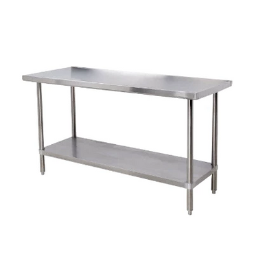 Plain Stainless Steel Table CC2.4P | table | wedoall.co.za