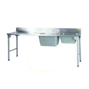Sink Combination Right 2300mm 0.9 mm 430 S/S Mild Steel Legs Titan SDSN1030O7 | Sink Combination | wedoall.co.za