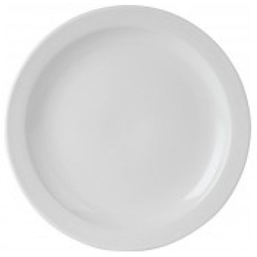 NARROW RIMMED PLATE - 17CM (24) SP-DA900 (24) | plate | wedoall.co.za