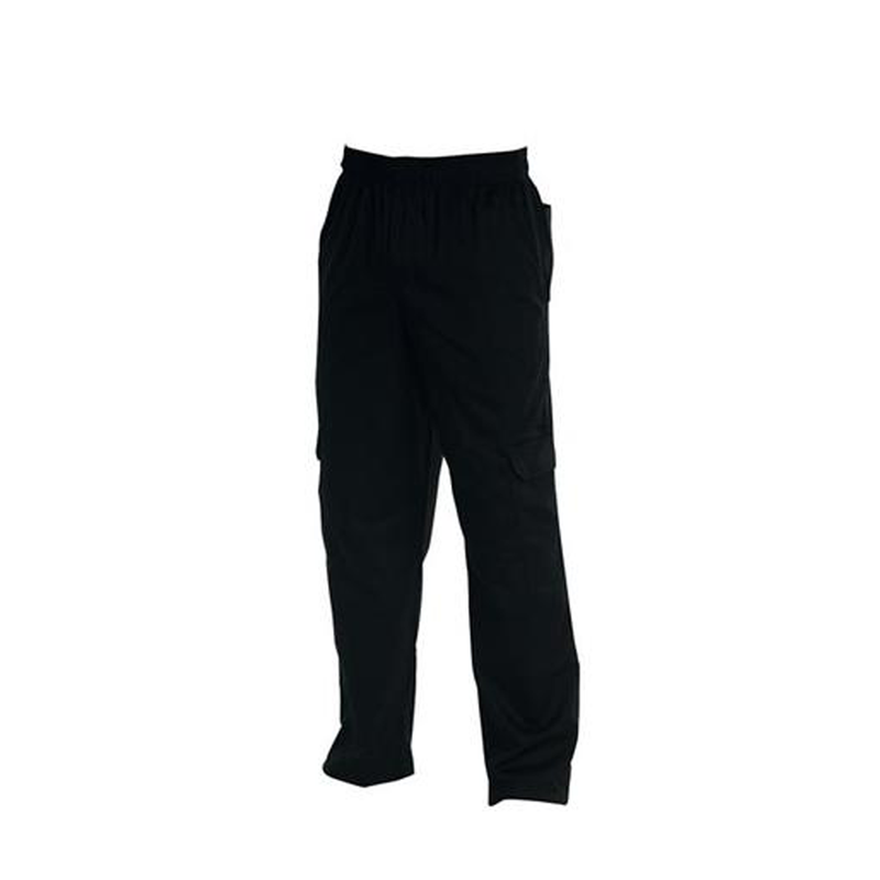 Chefs Uniform - Cargo'S Black - X - Large UNI2034