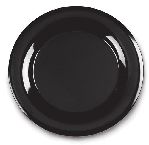 Buffet platter round 480mm Black Carlisle