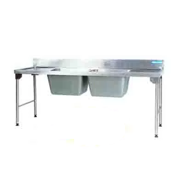 Sink Double Pot 2300mm 1.2 mm 304 C/SS Stainless Steel Legs Ezy Wash Center EZWH1024O7 | Sink Double Pot | wedoall.co.za