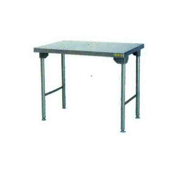 Plain Top Table 1100mm 0.7 mm 430 S/S With Mild Steel Legs Titan   SDTA1008O7 | table | wedoall.co.za