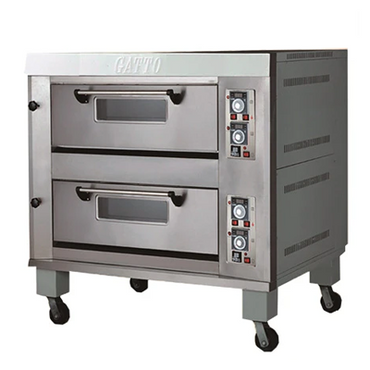 Double Deck Gas Oven 4 Pan XYX-40A | Double Deck Gas Oven 4 Pan | wedoall.co.za