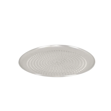 Pizza Pan Perforated Round Aluminium 350mm PPR1400 | Pizza Pan Perforated Round Aluminium | wedoall.co.za