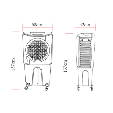 Evaporative Air Cooler Model CXD55H | Evaporative Air Cooler | wedoall.co.za