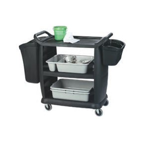 BUSSING AND TRANSPORT CART (BLACK) SMALL 965 x 457 x 920mm - 20kg TRC3100 | wedoall-co-za.myshopify.com