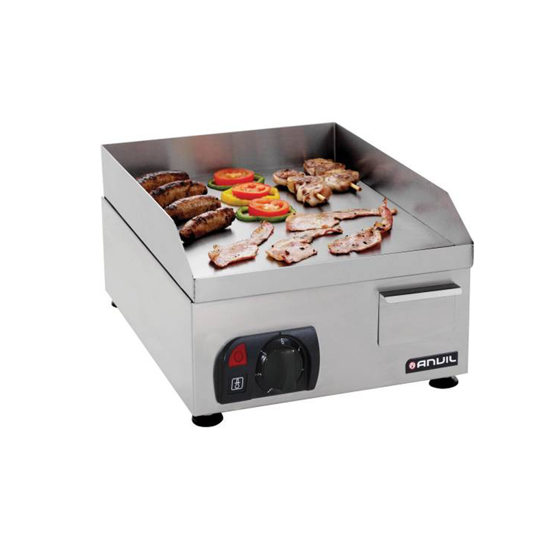 400mm Flat Top Griller FTA0400 | 400mm Flat Top Griller Table Top | wedoall.co.za