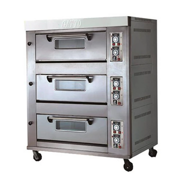 Triple Deck Oven Gas 6 Pans XYX-60A | Triple Deck Oven Gas 6 Pans | wedoall.co.za