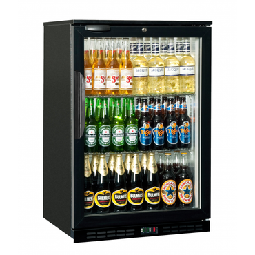 1 Hinged Door 138Lt Back Bar Cooler BBC0001 | Back Bar Cooler Salvadore Single Hinged Door | wedoall.co.za