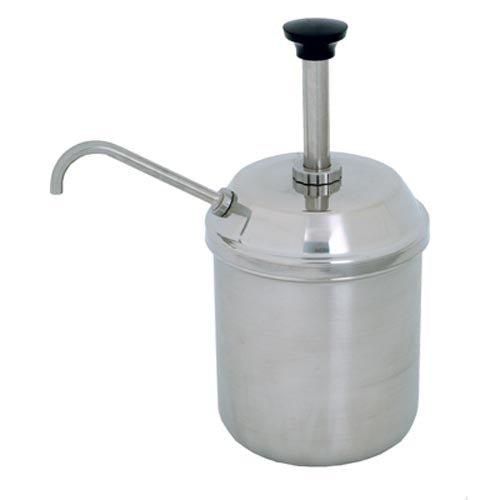 CONDIMENT SERVER - COMPLETE JAR AND PUMP  CPS0003