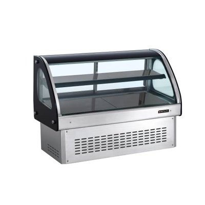 1500mm Display Unit Counter Sunk DFC2500 | display unit refrigerated | wedoall.co.za