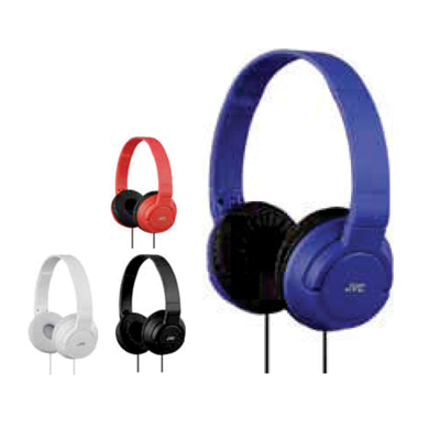JVC FOLDABLE HEADPHONES HA-S180-A-K Blue