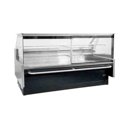 2.4m Square Glass Pastry Chiller SGPAT2440SC | Square Glass Pastry Chiller | wedoall.co.za