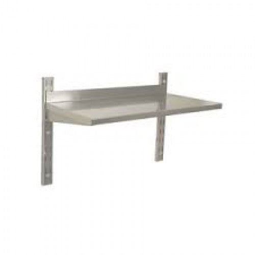 S/STEEL WALL SHELVING SINGLE - 900 x 300mm  SSW0900 | shelf unit | wedoall.co.za