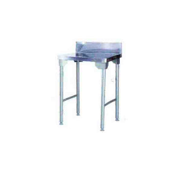 Splash Back Table 650mm Mild Steel Legs ECONO 9000 SDTA9001O7