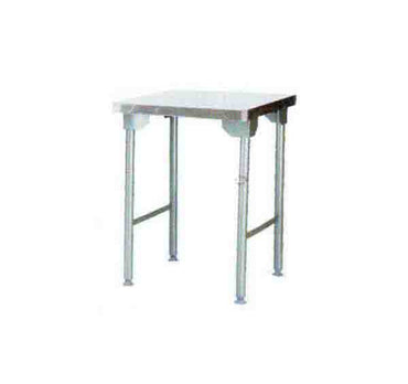 Plain Top Table 650mm 0.7 mm 430 S/S With Mild Steel Legs  ECONO 9000  SDTA9006O7 | Plain Top Table | wedoall.co.za