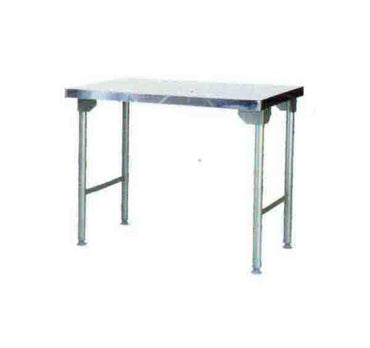 Plain Top Table 1100mm 0.7 mm 430 S/S With Mild Steel Legs ECONO 9000 SDTA9008O7 | Plain Top Table | wedoall.co.za
