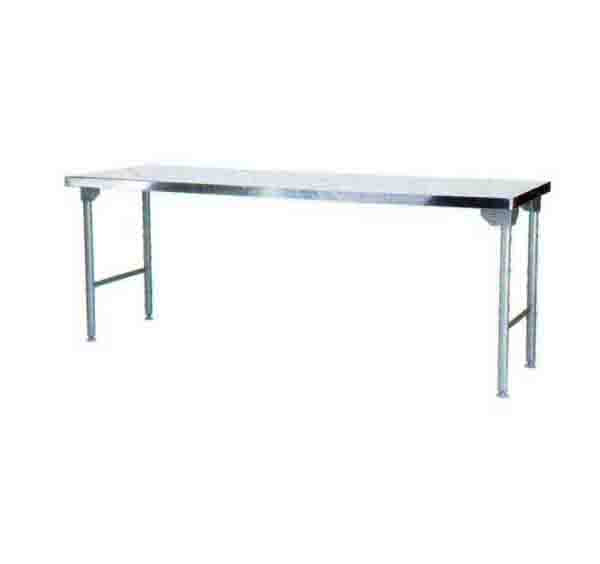 Plain Top Table 2300mm Mild Steel Legs  ECONO 9000 SDTA9010O7