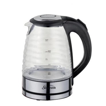 SUNBEAM 1.7 LITRE RIBBED GLASS KETTLE 1.7 LITRE GLASS KETTLE SGRK-017 | kettle | wedoall.co.za
