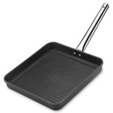 GRILL PAN 'BLACK SERIES' CAST ALUM - INDUC 280 X 280MM PCG0028 | wedoall-co-za.myshopify.com