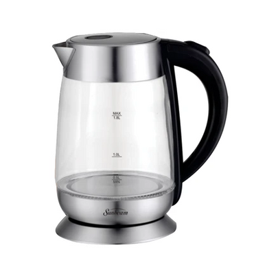 SUNBEAM 1.8 LITRE GLASS CORDLESS KETTLE SCGK-170BL | kettle | wedoall.co.za