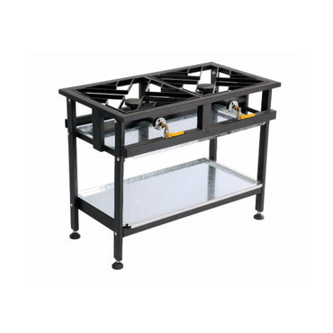 BOILING TABLE GAS – COMMERCIAL – 2 BURNER STRAIGHT BTG2002 | wedoall-co-za.myshopify.com
