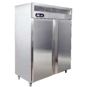 COMMERCIAL KITCHEN REFRIGERATOR - DOUBLE DOOR - S/STEEL CKR1480 | wedoall-co-za.myshopify.com