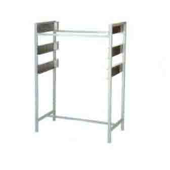Chip Rack  3 Tier  Mild Steel - Frame Only   NTCR1003O7 | Chip Rack | wedoall.co.za