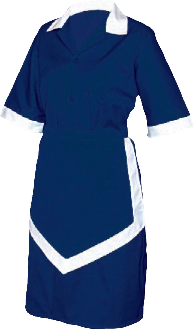 LADIES HOUSEKEEPING 3PC - NAVY AND WHITE - XX LARGE UNI5035 | LADIES HOUSEKEEPING 3PC - NAVY AND WHITE | wedoall.co.za